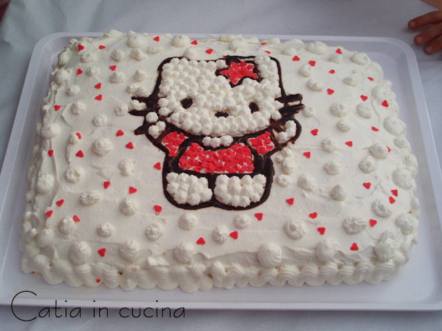 torta hello kitty flavia