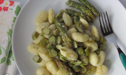 Gnocchi agli asparagi
