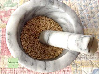 gomasio mortaio