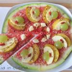 Finta torta di frutta - ricetta estiva