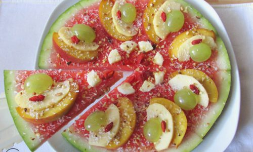 Finta torta di frutta – ricetta estiva