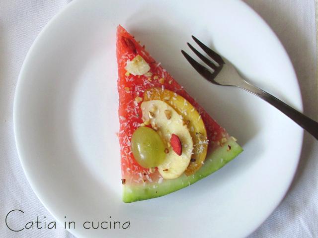 finta torta di frutta