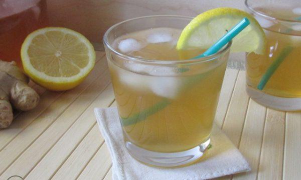 The freddo al limone e zenzero