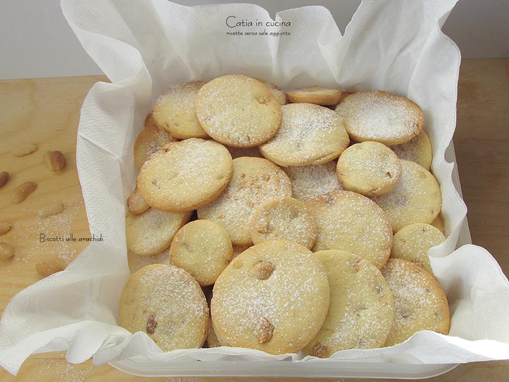 biscotti frolla alle arachidi