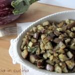 Melanzane spadellate, con aglio e prezzemolo