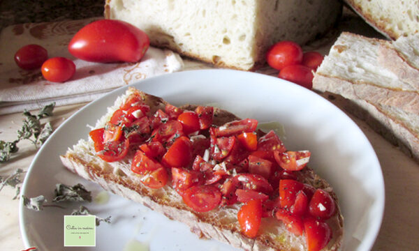 Pane e pomodori (pugliesi doc!)