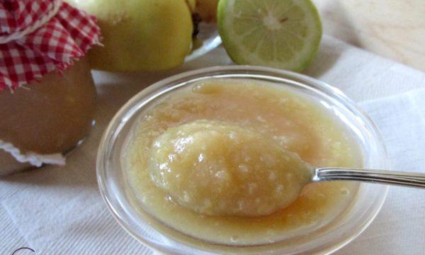 Marmellata di pere cotogne e limone