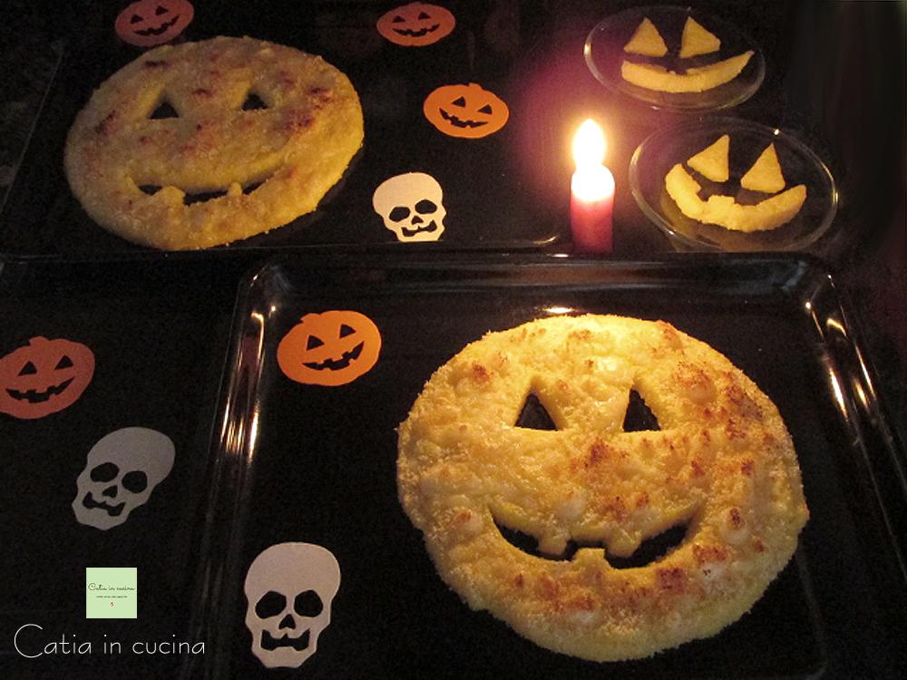 polenta gratinata halloween