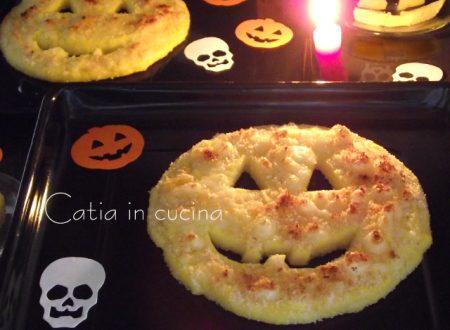 Polenta gratinata (idea Halloween)