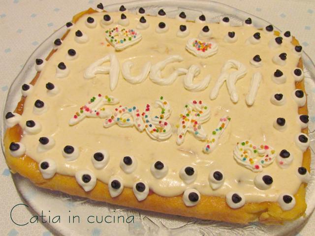 finta cheesecake all'albicocca
