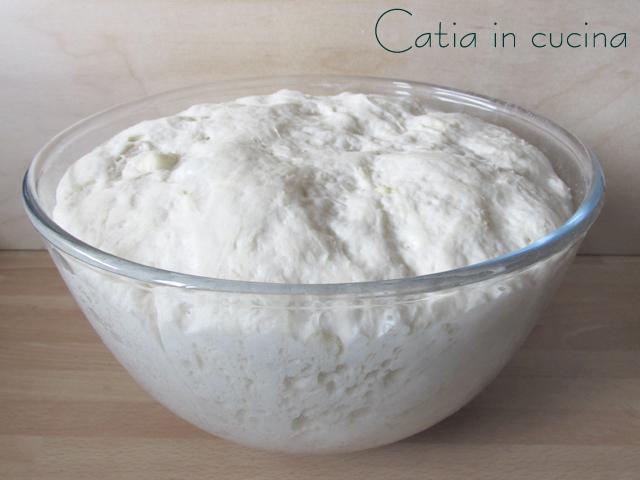 focaccia feta e insalata-pasta