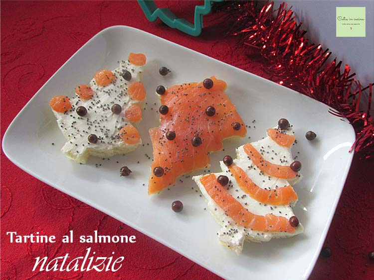 tartine al salmone natalizie new