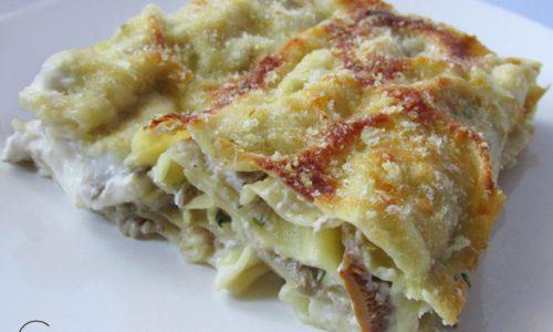 Lasagne ai funghi – ricetta veloce