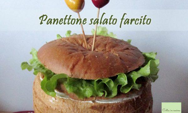 Panettone salato farcito