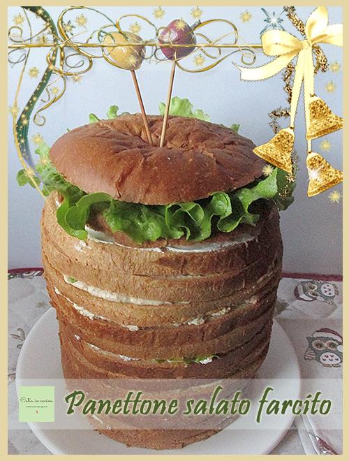 panettone salato farcito - festività