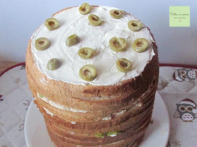 panettone salato farcito-olive