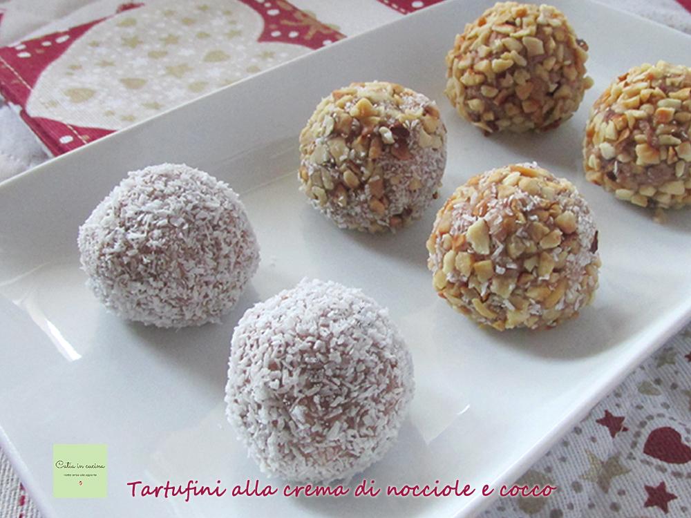 tartufini cocco