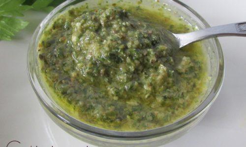 Salsa verde (per il bollito o quello che vuoi tu)