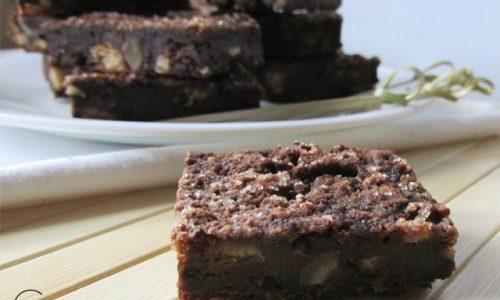 Brownies di pane – ricetta vegan