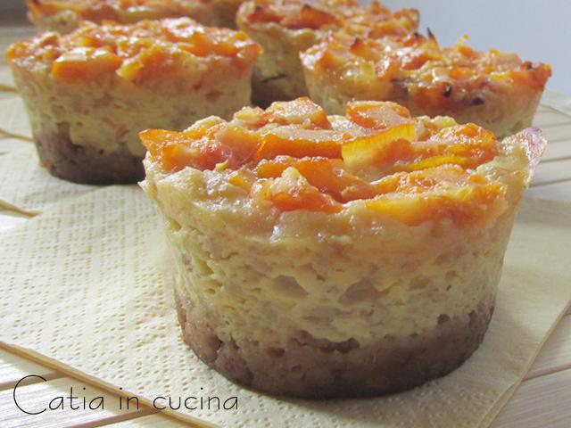 mini-cheesecake di pastiera
