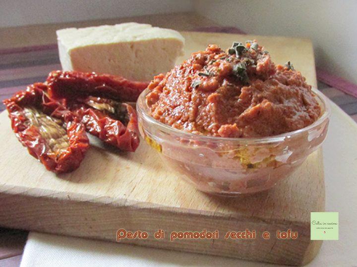 pesto di pomodori secchi e tofu