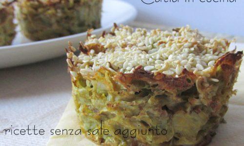 Tortini di insalata ai semi di sesamo