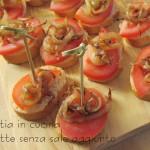 Tartine rustiche con cipolla arrostita