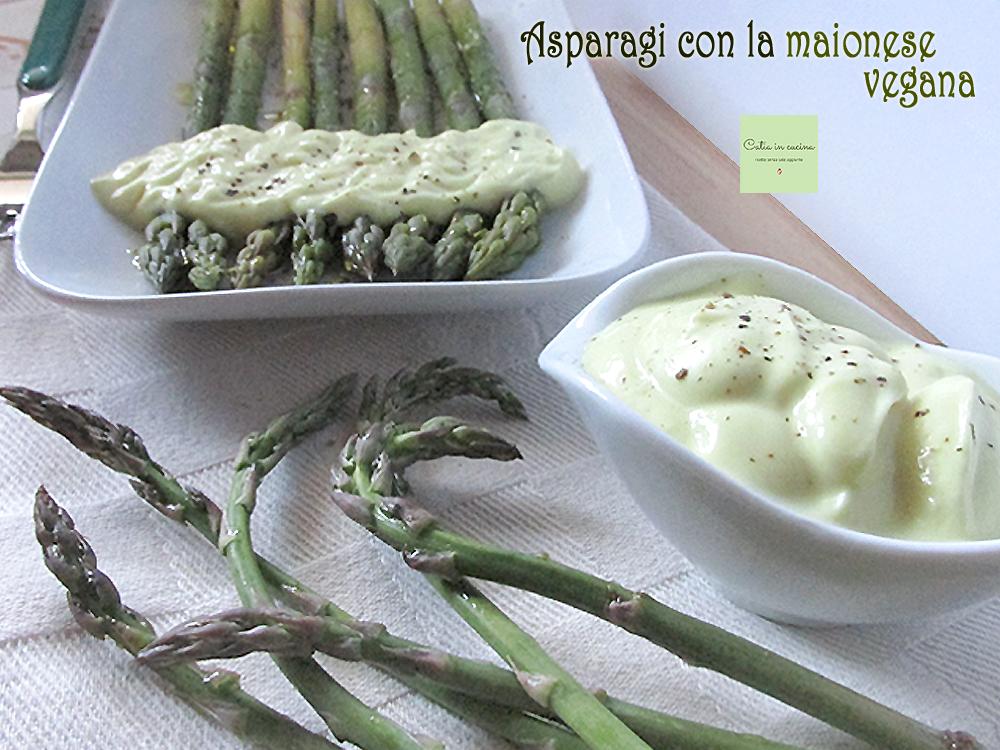 asparagi con la maionese