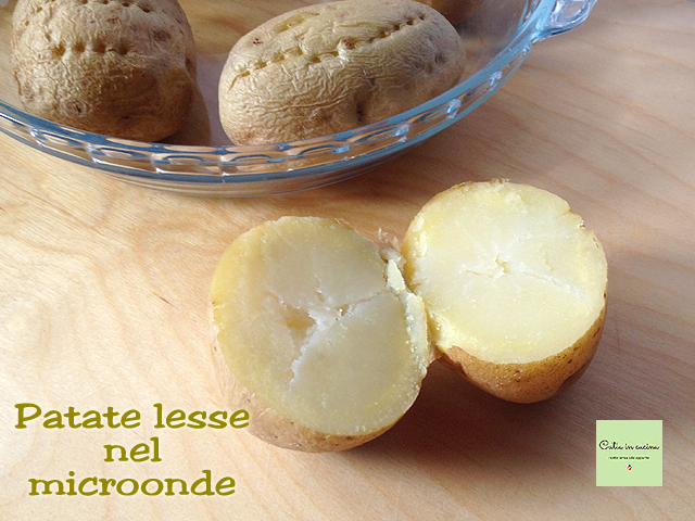 patate lesse col microonde-intere