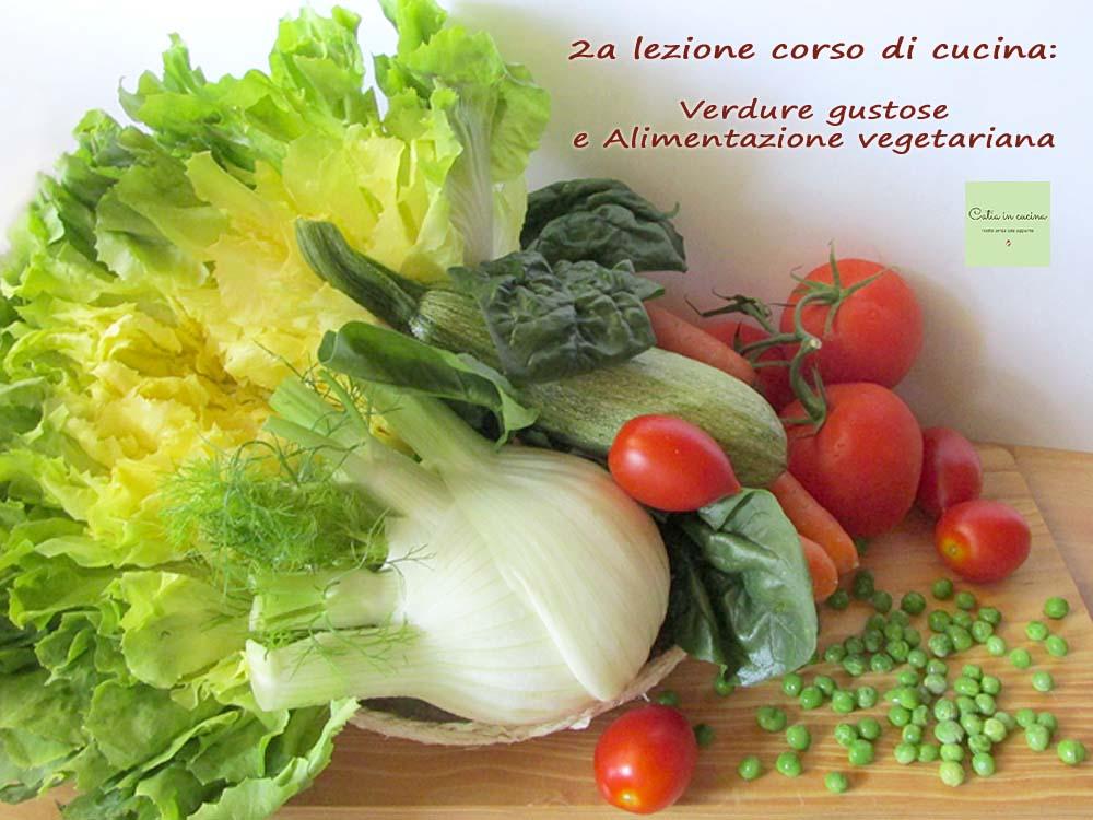 corso di cucina vegetariana- verdure miste