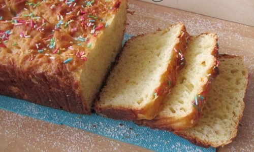 Plumcake di pasta brioche light allo yogurt