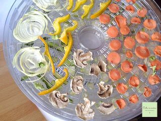 Verdure essiccate (primo step)
