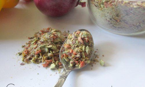 Dado granulare vegetale (con essiccatore)