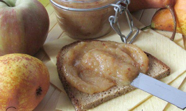 Marmellata di pere con la buccia
