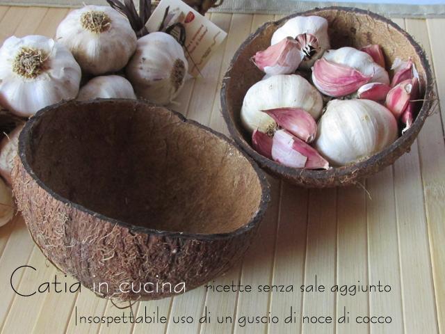 insospettabile uso di un guscio di noce di cocco