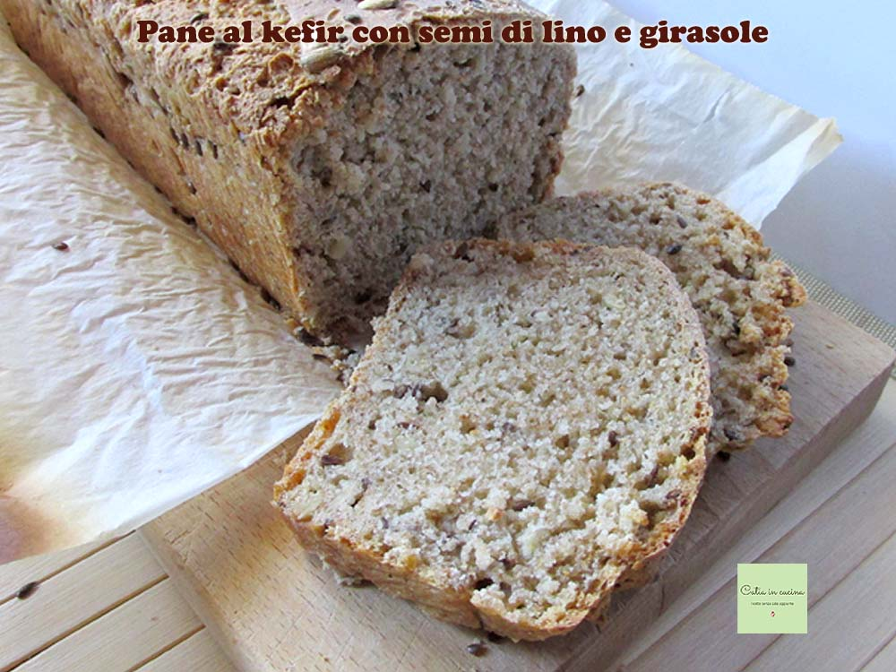 pane al kefir con semi misti