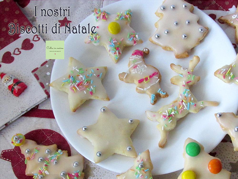 i nostri biscotti di natale