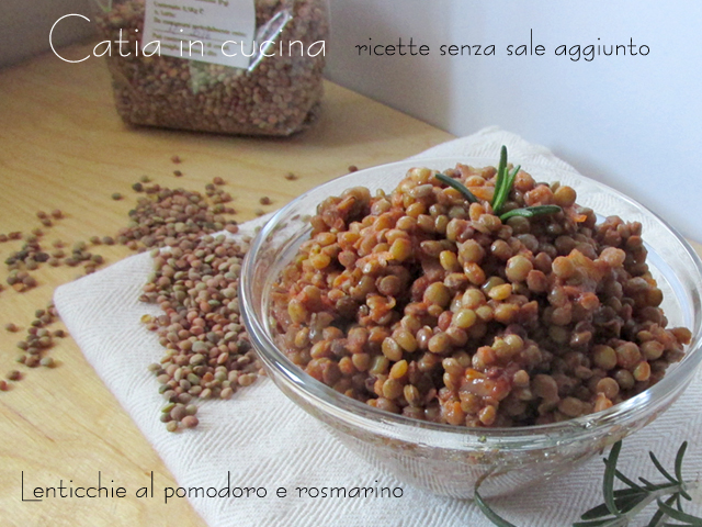 lenticchie pomodoro e rosmarino