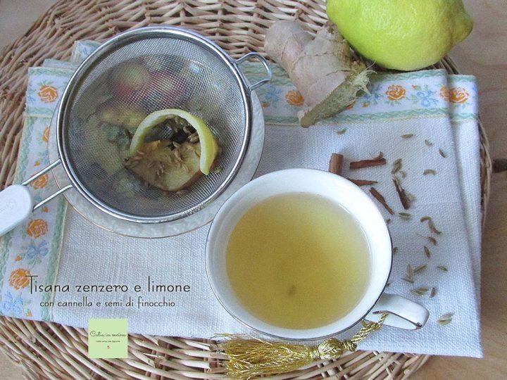tisana zenzero e limone - microonde