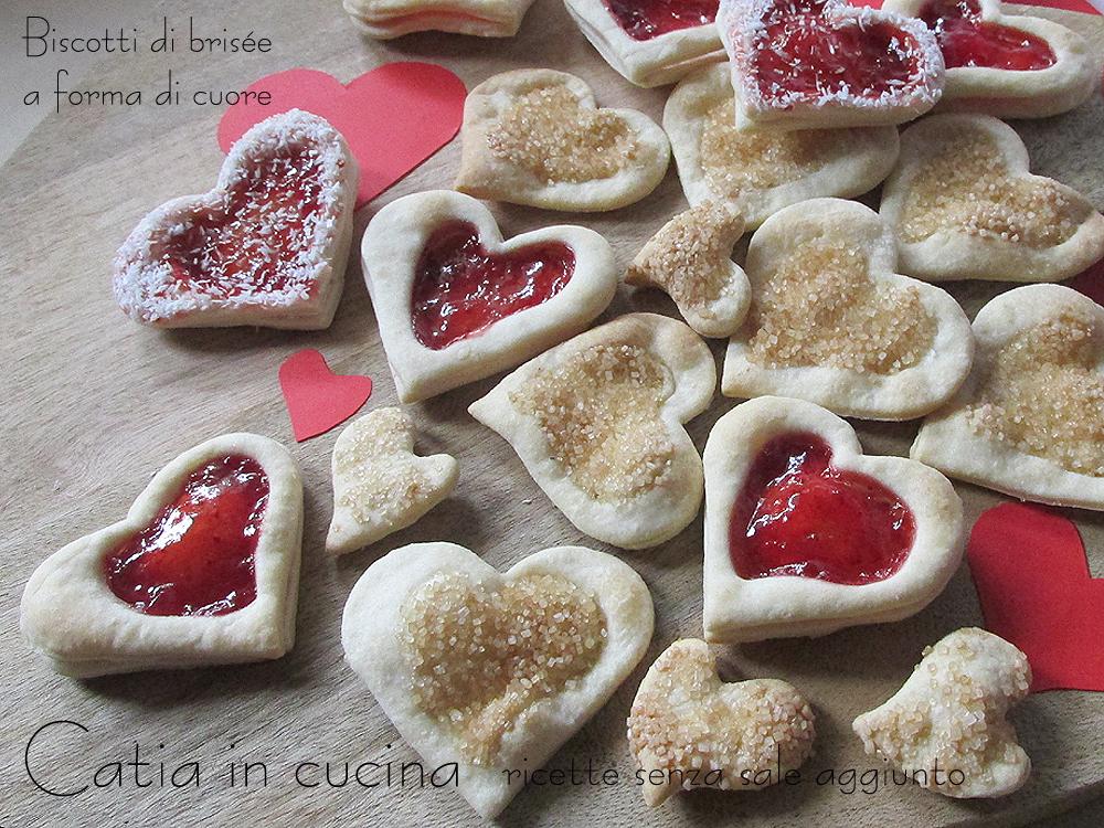 biscotti di brisée a forma di cuore 2