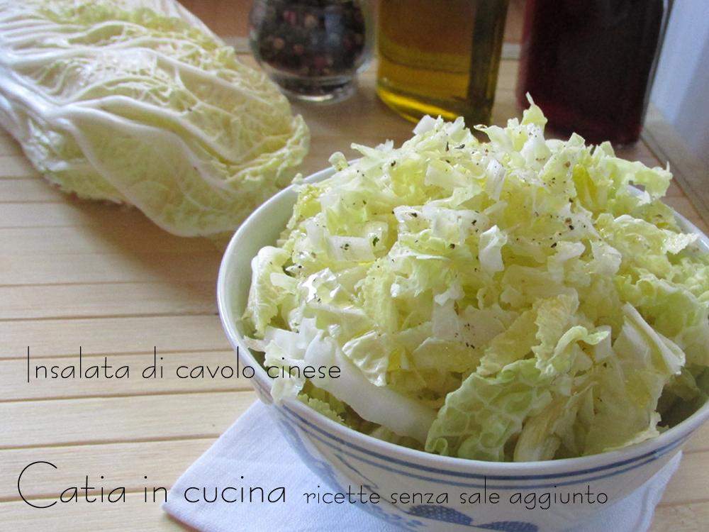 insalata di cavolo cinese