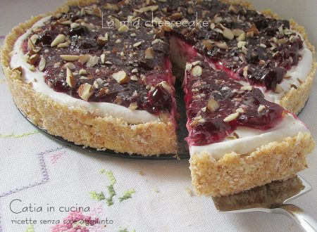 La mia cheesecake di panna e kefir