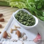 Pesto alle foglie di sedano