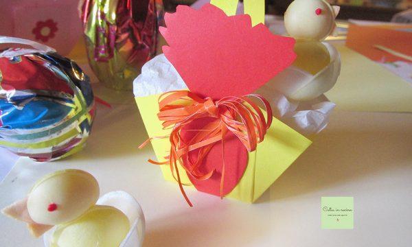Cestini di carta decorati