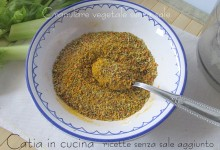 Granulare vegetale senza sale (essiccatore)