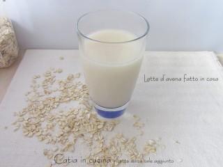 latte d'avena fatto in casa