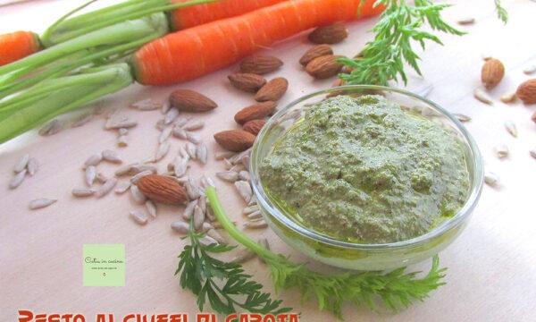 Pesto ai ciuffi di carota