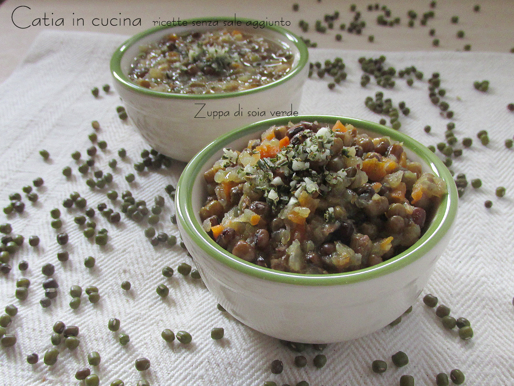 Zuppa di soia verde con aglio e rosmarino catia in cucina for Lecitina di soia in cucina