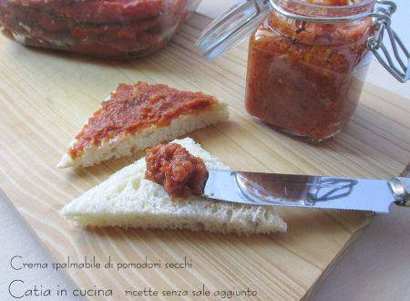 Crema spalmabile di pomodori secchi