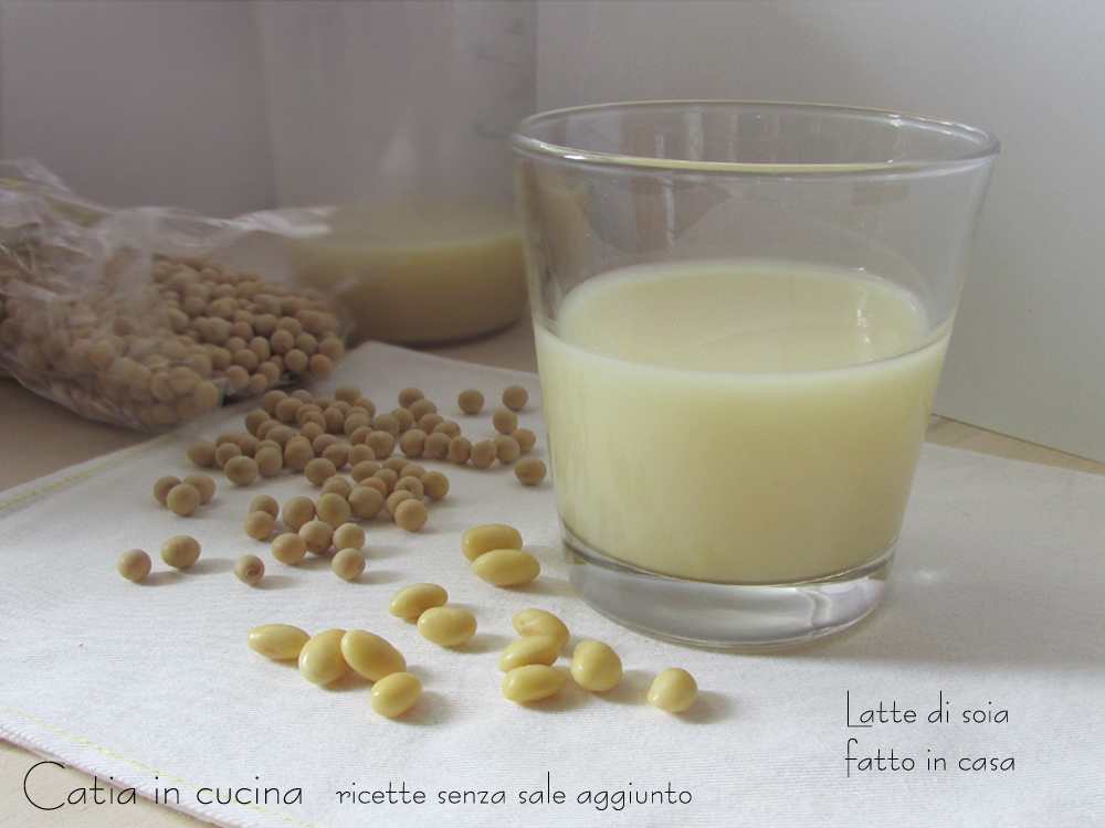latte di soia fatto in casa